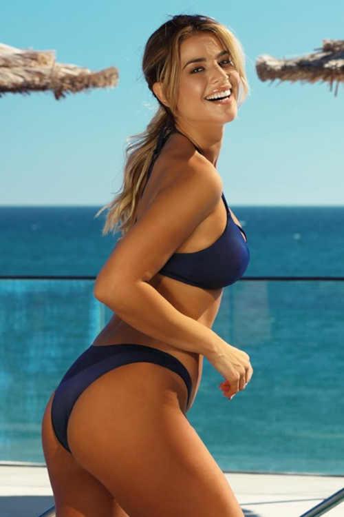 Kék szexi bikini nőknek