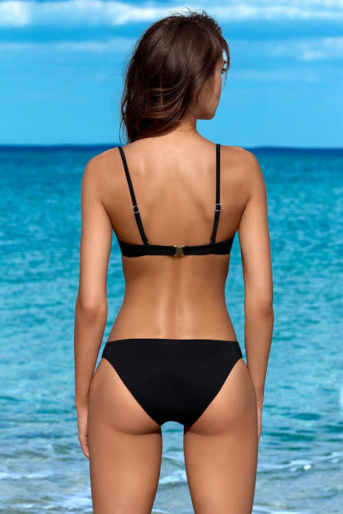 Női push-up kéttónusú bikini